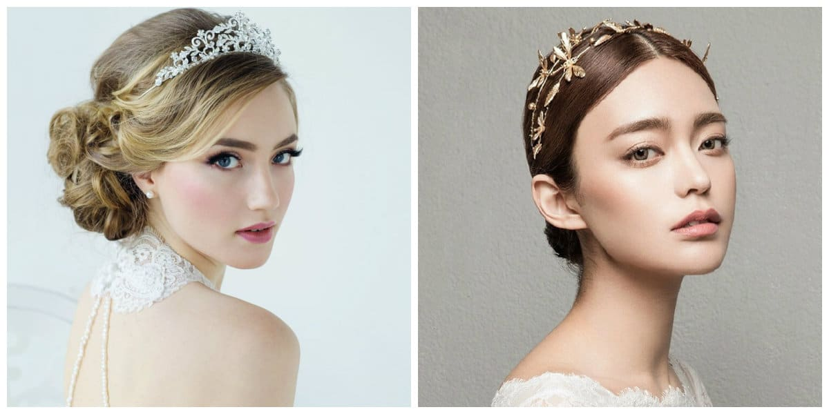 wedding gowns 2019, wedding tiara 2019 trends and ideas