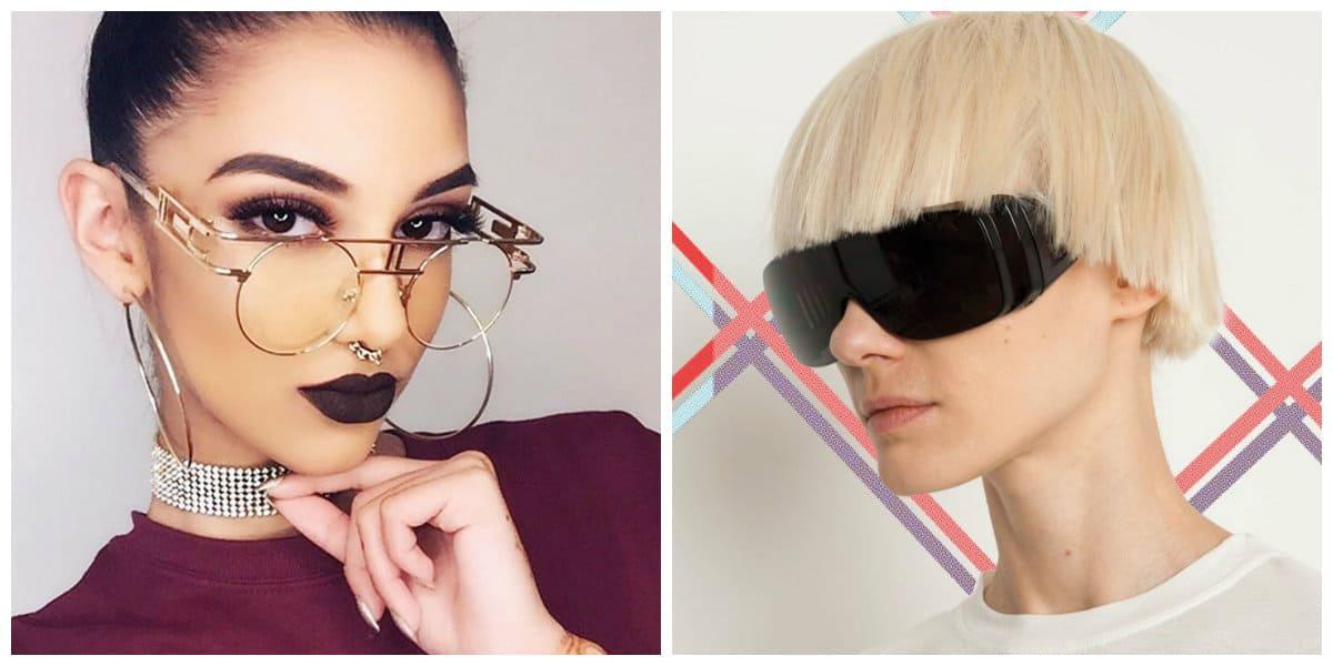 women sunglasses 2019, sunglasses for women 2019, sci fi sunglasses, steampunk sunglasses