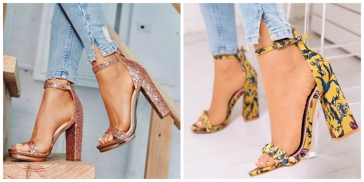 womens summer shoes 2019, summer shoes with steady heels