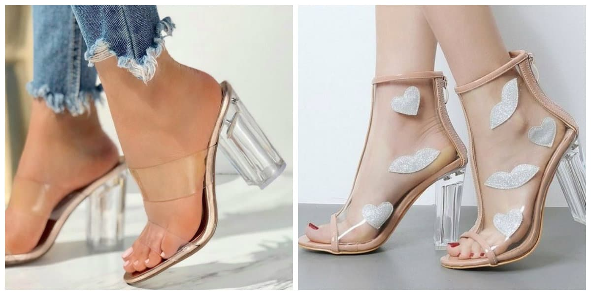 womens summer shoes 2019, summer shoes with transparent inserts