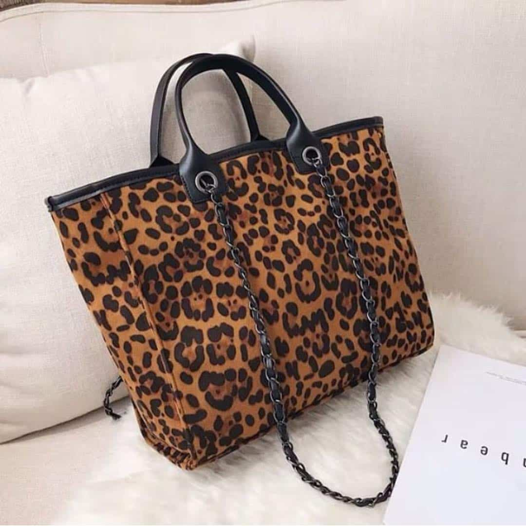 Handbags for women 2019: Animal print