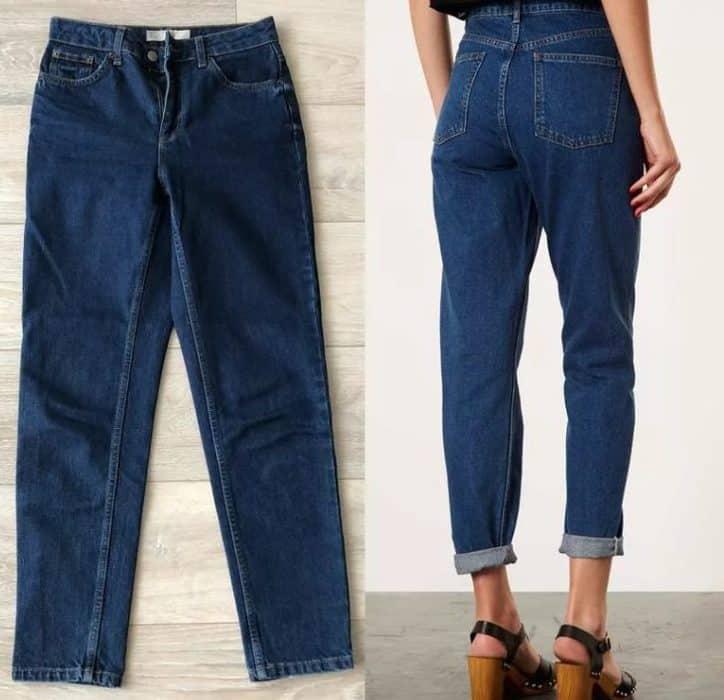Ladies' Jeans 2022: Mom Jeans