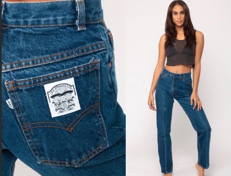 Crease-Leg Jeans 2022