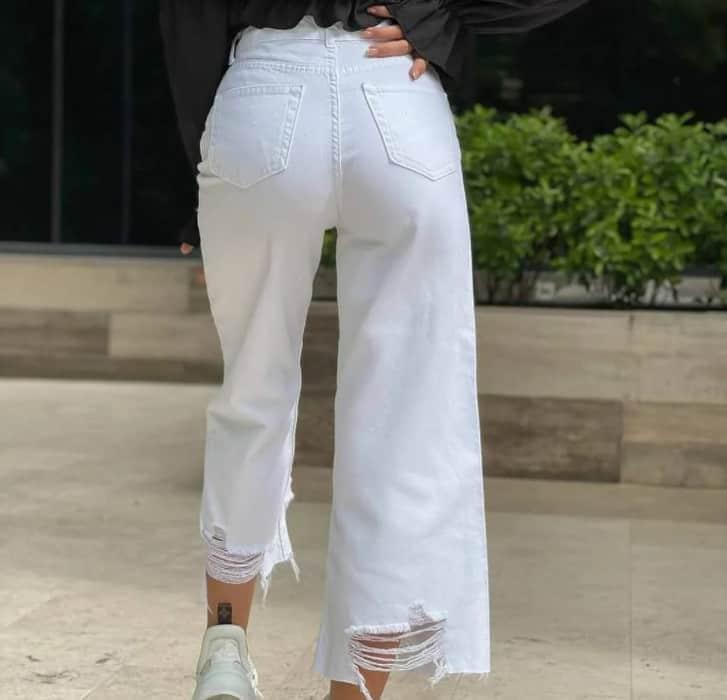 Women Jeans Fashion: White Jeans 2022