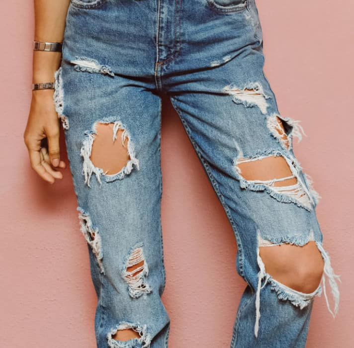 Distressed And Ripped Jeans 2022