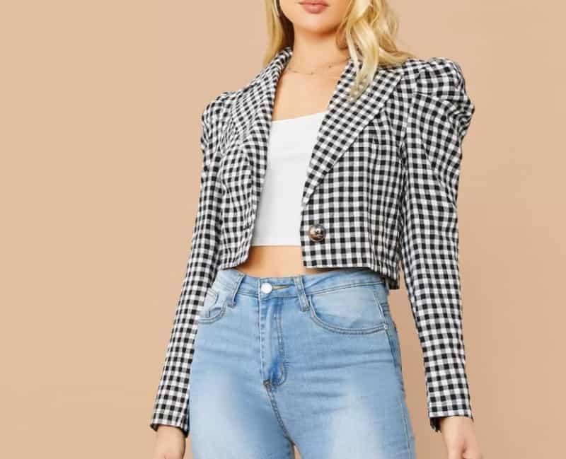 New Fashion Trends 2022: Cropped Blazer