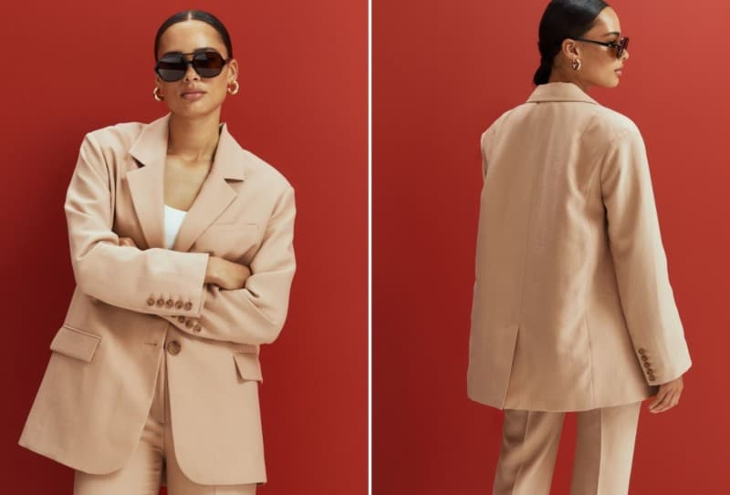 Ladies' Blazers 2022: Blazer with Slits