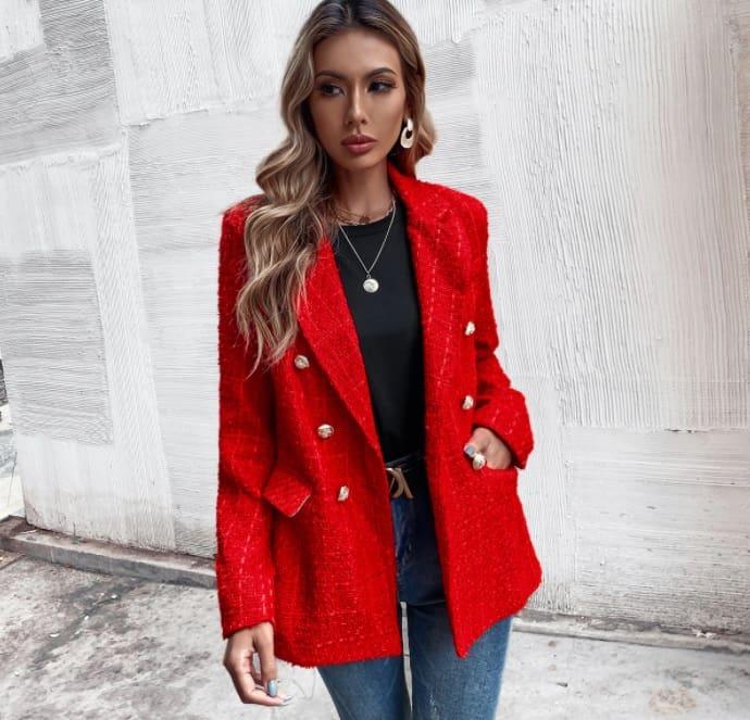 Ladies' Blazers 2022: Sleeveless Blazer