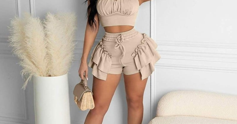 Fashionable Ruffle Shorts 2022