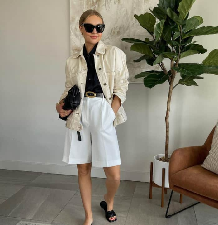 Fashion 2022 Summer: High Waist with Belt shorts