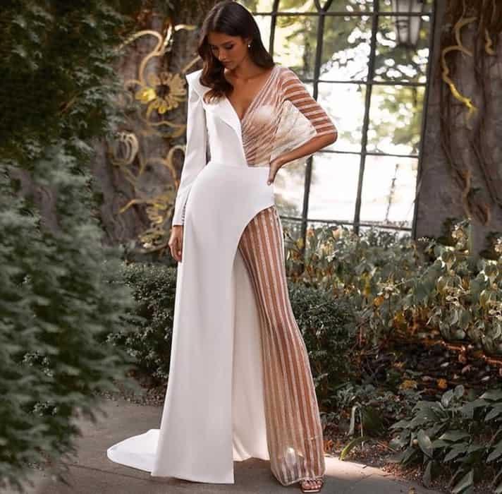 Fashionable Jumpsuits for Fashionable Brides 2022